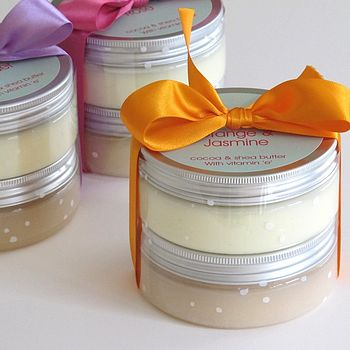 Spa Scrub And Body Butter Gift Set