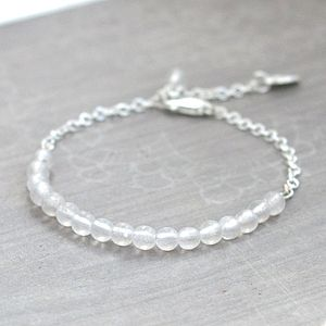 April Birthstone Bracelet - bracelets & bangles