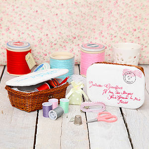 Mini Sewing Basket Kit - sewing kits