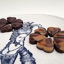 Ginger And Cappuccino Chocolate Hearts