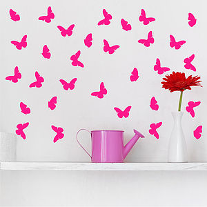 Butterfly Peel And Stick Stickers