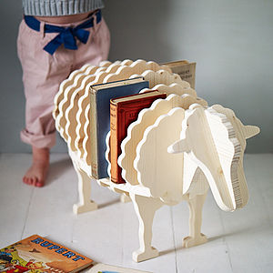 Baa Baa Book Shelf - baby's room