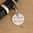 Small (1 inch) tag