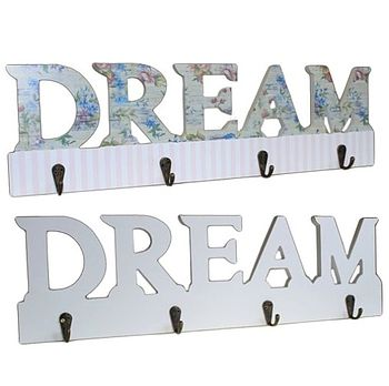 'Dream' Shabby Chic Coat Hooks