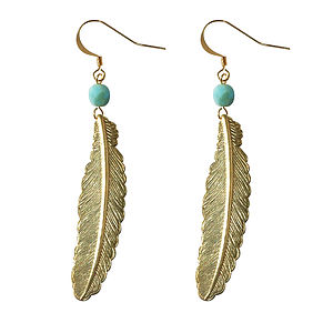 Flock Together Feather Earrings