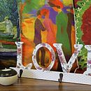 'Love' Shabby Chic Coat Hooks