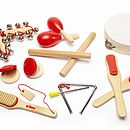 Wooden Musical Percussion Set