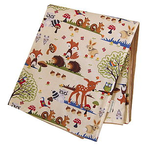 Baby Blanket 'Forest' - blankets & throws