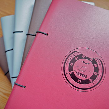 Personalised Journal For Car Lovers