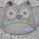 Wooden Owl Kit