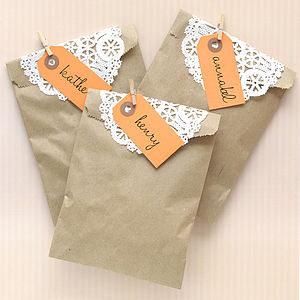 Kraft Gift Bag Set - cards & wrap
