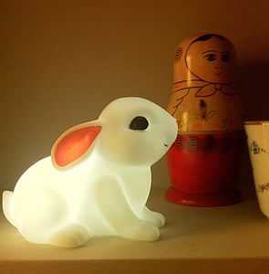 Bunny Night Light - children's room accessories
