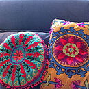 Handmade Crewelwork Cushion