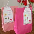 Thumb hen night party bags