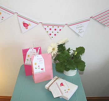 hen party personalised bunting