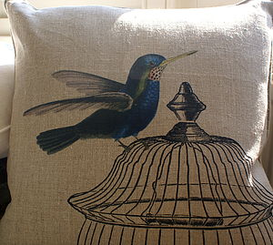 Hummingbird Cushion - cushions