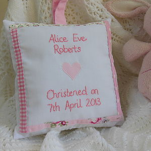 Personalised Girl's Christening Gift - christening gifts