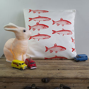 Child's Goldfish Cushion - soft furnishings