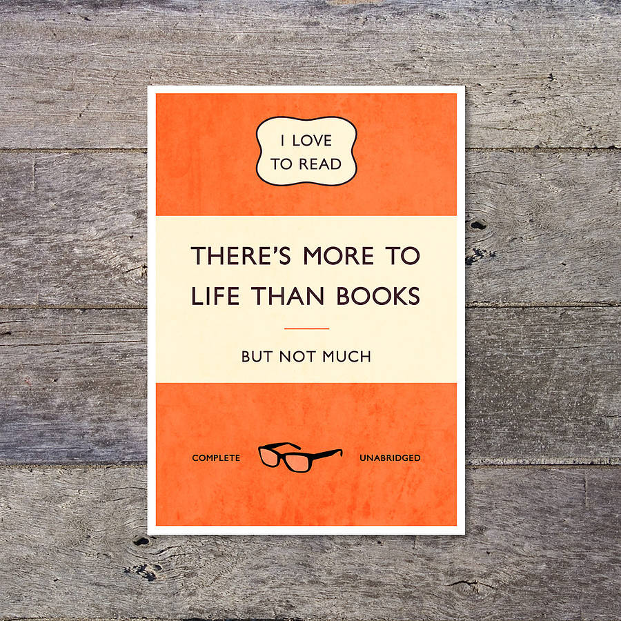 Classic Book Covers Posters : Classic paperback print by paperpaper notonthehighstreet