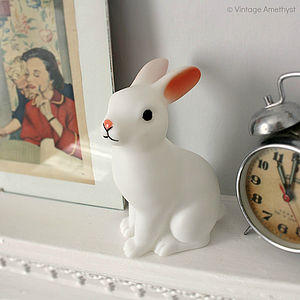 Bunny Night Light - children's lighting