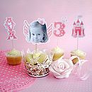 Personalised Fairy Princess Cake Toppers