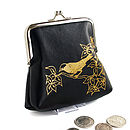 Leather Early Bird Coin Purse