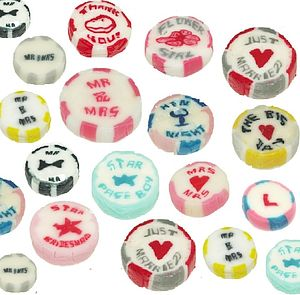 Wedding Rock Sweets In Thirteen Designs - edible favours