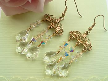 Crystal Chandalier Earrings