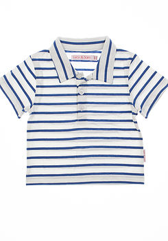 Striped Summer Polo