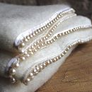 Ivory Pearl Throw