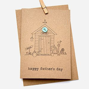Father's Day Card In The Garden
