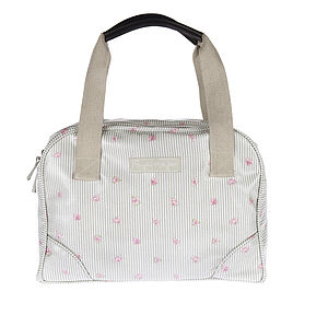 Rose Oilcloth Stamford Bag - bags & purses