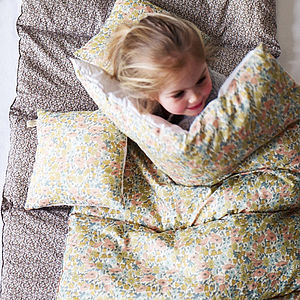 Poppy Liberty Print Eiderdown - bedroom