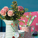 Candy Mint Ceramic Jug