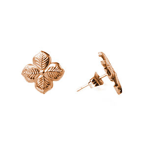 Hyacinth Floral Stud Earrings