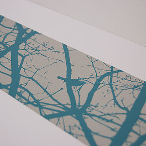 Blackbirds Screen Print Three Colour Options - posters & prints
