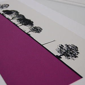 Calverley Landscape Screen Print - prints for christmas