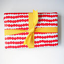 Baubles gift wrap