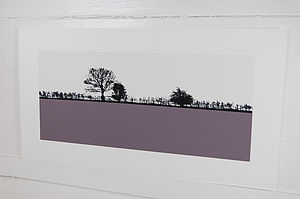 Pool In Wharfedale Landscape Screen Print - contemporary art