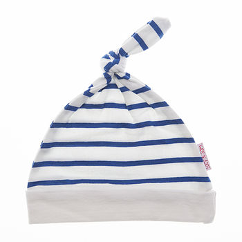 Boy's Summer Striped Knotted Hat