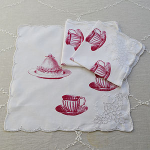 Vintage Table Napkin - bed, bath & table linen