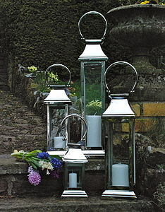 Stainless Steel Station Lantern