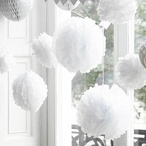 Pack Of Three Pom Poms - decorative accessories