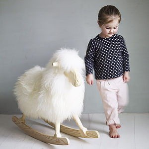 Rock Ewe Rocking Sheep - gifts for children