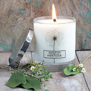 Cottage Garden Scented Candle - candles