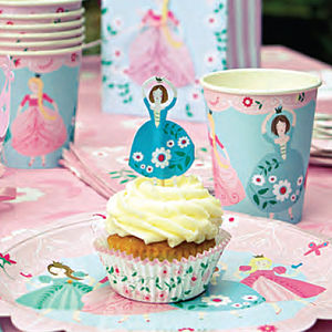 Princess Party Range - decorative accessories