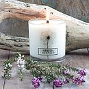 Coastal Walk Natural Wax Scented Candle