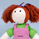Personalised Girl Rag Doll