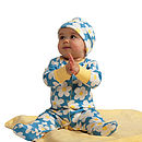 Daisy Chain Babygrow & Hat Gift Set