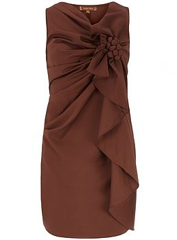 Structured Corsage Dress